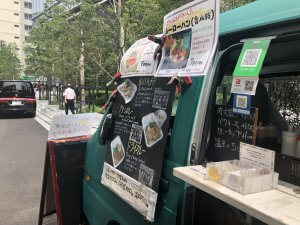 渋谷キッチンカー(アベマタワー)